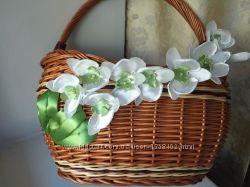 Декор для пасхальной корзины, авторскоя ручной работ