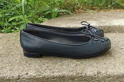 Кожаные балетки туфли Stuart Weitzman 36, 5 р. Оригинал