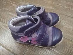 ортопедичні шкіряні кросівки, туфлі PONTE 20, розмір 26