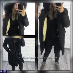 Зимняя куртка защита от воды размер 42-46