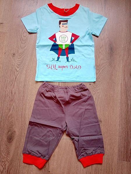 Акция Пижама летняя футболка бриджи ТМ Бемби ПЖ44