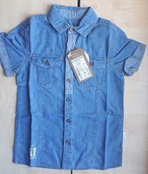 Рубашка джинс рб60 ТМ Бемби