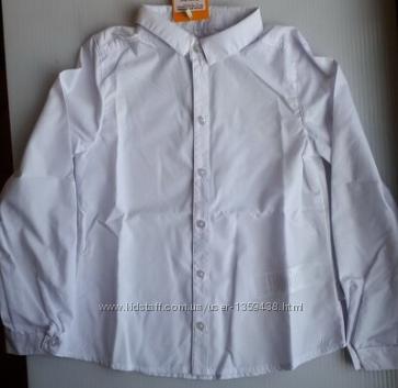 Рубашка белая рб115 рб140 ТМ Бемби