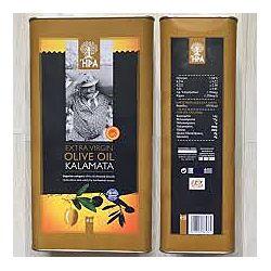 Оливковое масло HPA Kalamata Extra Virgin 5л