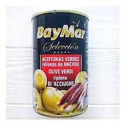 Оливки с анчоусом Bey Mar Rellenas Anchoa 350г