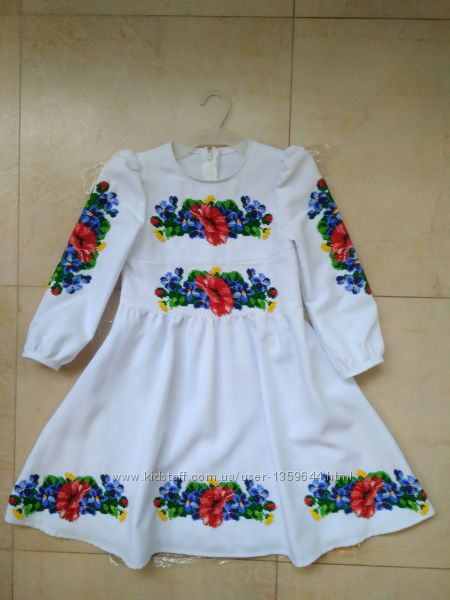93dcbb2b1020bf вишита сукня для дівчинки, 1750 грн. Детские платья, сарафаны, туники -  Kidstaff   №24775102