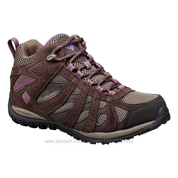 Женские кроссовки треккинговые, ботинки деми/Columbia USA/р.3824,5см