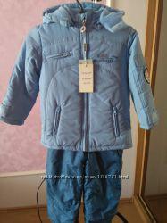 Куртка и полукомбинезон зимние на мальчика Little God 104-110р.