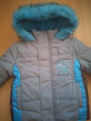 Зимняя куртка для мальчика 104 р.
