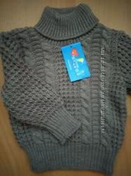 Теплый и приятный свитер для мальчика 80-86 рост Польша Volipok