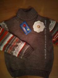 Очень теплый и мягкий свитер для девочки производство Польши.