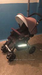 Прогулочная коляска Jane Nomad, капюшон, бампер, корзина, шасси, сиденье