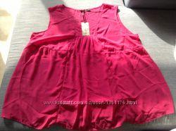 Новая розовая блузка Iconic большого 28 размера