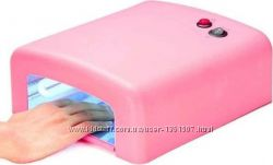УФ Лампа для сушки ногтей лака 36Вт таймер  4 лампочки