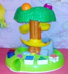 Фирменные развивающие игрушки Музыкальное дерево сортер с винтовой горкой