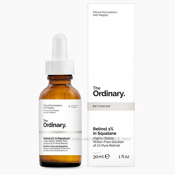The Ordinary Retinol 1 in Squalane ретинол 1