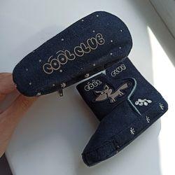 Первые ботиночки Кул Клаб пинетки