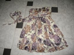 платье BCBGMaxAzria Оригинал-шелк100, р-р 6м