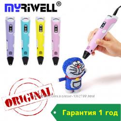 3Д ручка Myriwell-2 3D pen RP-100B Гарантия 1 год