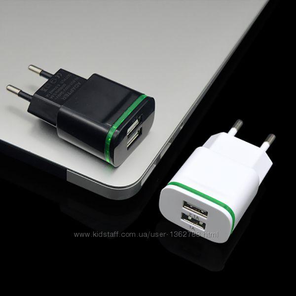 USB зарядка Реальных 2A  Блок питания Зарядное устройство для телефона