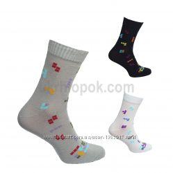 Житомирские весенние носки с яркой расцветкой
