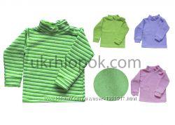 Гольф, водолазка утепленная для девочки или мальчика от 2 до 7 лет