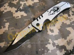 Нож складной  Spider FA10 полусеррейтор