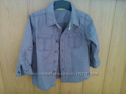 Классная рубашка Мatalan для мальчика, чистый хлопок.
