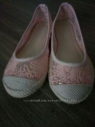 Продам текстильные балетки