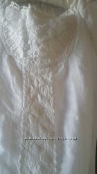 Orchestra Оригинал кружевное белое платье . 116 см. Франция для девочки
