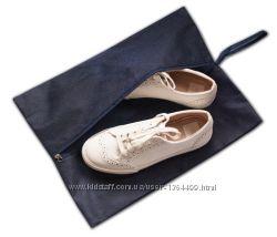 Объемная сумка-пыльник для обуви