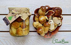 Білі мариновані гриби урожаю 2017 під замовлення від Бази лісу