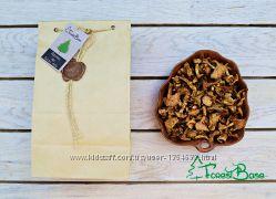 Сушені лисички урожаю 2017 від Бази лісу 100 грамів