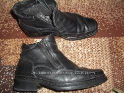 Ботинки кожаные, зимние.