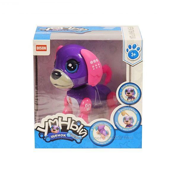 Интерактивная игрушка Умный щенок фиолетово-розовый DISON E5599-1