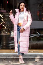5П832 Женское стильное пальто на силиконе единый размер