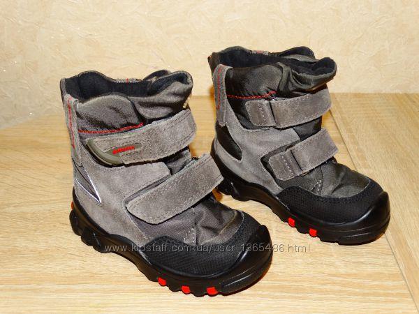 Р. 22 ботинки elefanten-tex с мембраной 14, 5 см. по стельке на высокий подъе