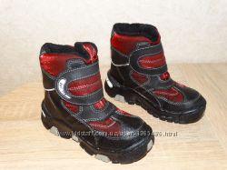 Мембранные термо ботинки Out Tex 18, 5 см. по стельке.