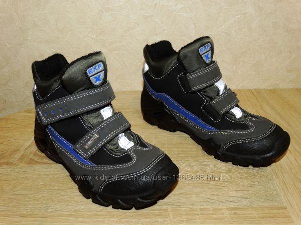 Суперские термо ботинки DELtex на мембране Del-tex размер указан 29 , по ст