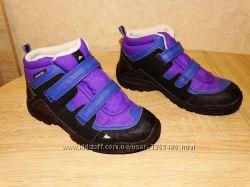 Р. 32-33 треккинговые ботинки quechua , 21 см. по стельке