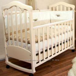 Кроватка детская Верес Соня ЛД - 11 цвет слоновая кость