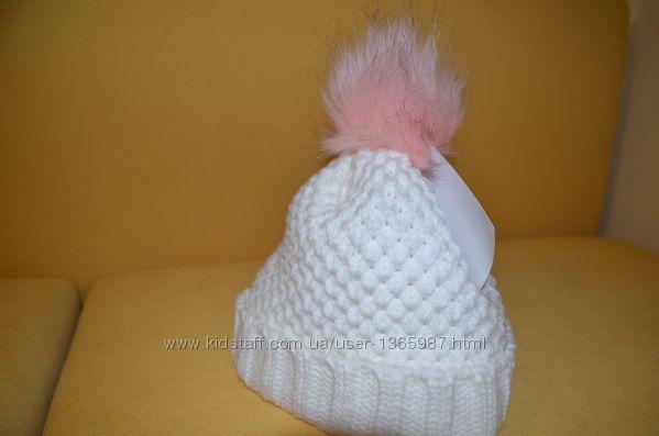 Новая двойная шапочка на девочку 4-5 лет
