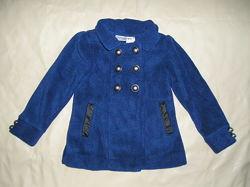 Пальто новое флисовое Savannah, куртка, пиджак на девочку 3-4 года