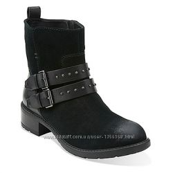 Замшеві черевики Clarks Swansea Grove