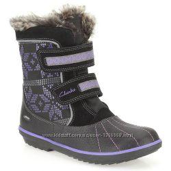 Зимові черевики Clarks fab hop Gore-Tex