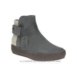 Шкіряні черевики Clarks Shiliin Ali Grey