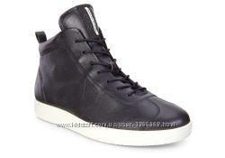 Шкіряні черевики Ecco Soft 1 Black