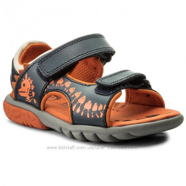 Шкіряні сандалі Clarks Rocco Surf