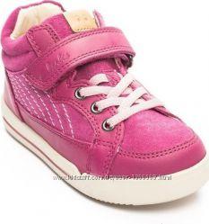 Шкіряні черевики Clarks Lilfolk Boo Pink