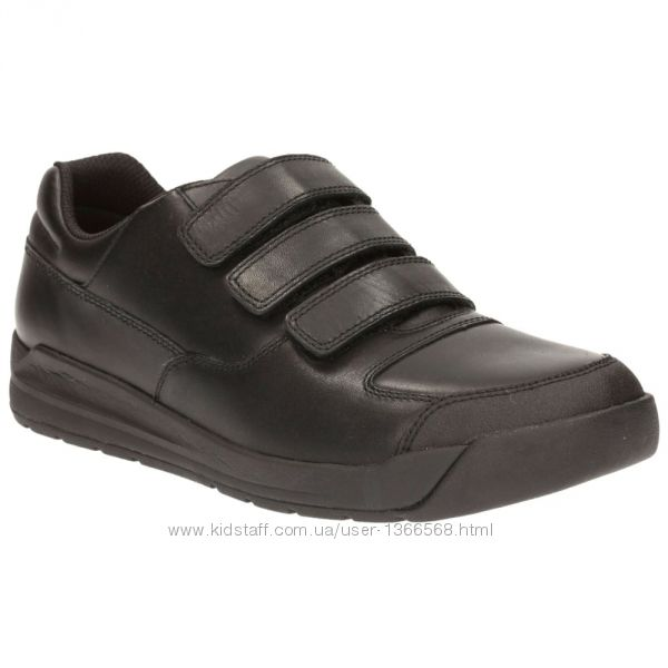 Шкільні туфлі Clarks Monte Lite Black